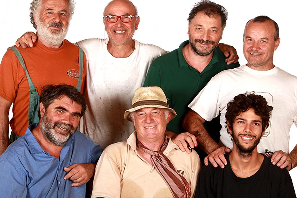 Soci e lavoranti foto di M. Fermariello